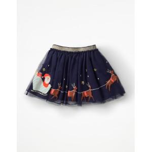 Applique Tulle Skirt