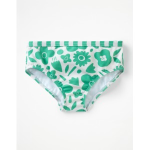 Patterned Bikini Bottoms
