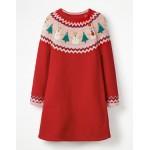 Fair Isle Knitted Dress
