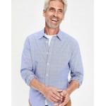 Slim Fit Poplin Pattern Shirt