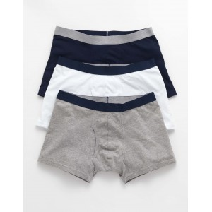3 Pack Jersey Boxers - Breton Marl Pack