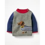 Fun Knitted Sweater