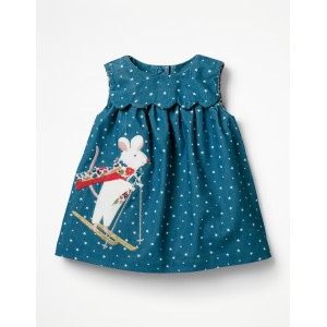 Applique Friends Dress