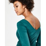 Double Layer V-back Top
