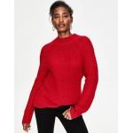 Isabella Sweater - Poinsettia