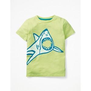 Glow-In-The-Light T-Shirt - Sherbert Lime Shark