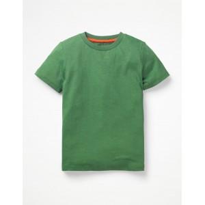 Slub Washed T-Shirt - Rosemary Green