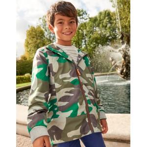 Water Resistant Anorak - Watercress Green Camouflage