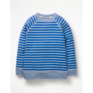Double Layer T-Shirt - Duke Blue/Ecru