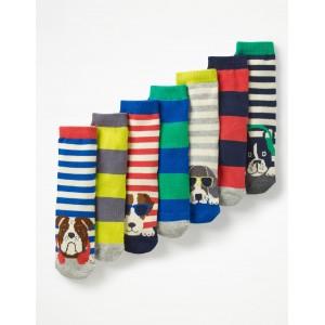 7 Pack Sock Box - Dogs