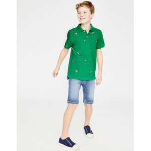 Pique Polo Shirt - Astro Green Toucans
