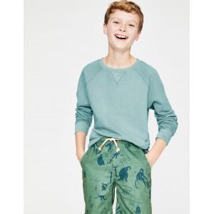 Garment-Dyed Sweatshirt - Mineral Blue