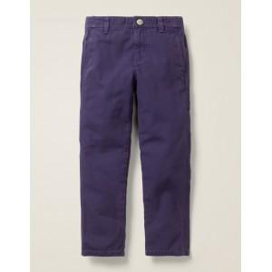 Rib Waist Carpenter Pants - Boysenberry Purple