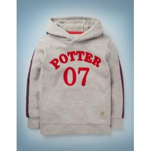Potter Hoodie - Mid Grey Marl Jaspe
