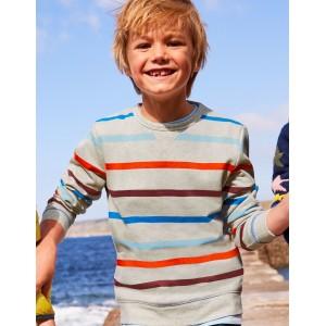 Cosy Sweatshirt - Oatmeal Marl/Orange Sunset