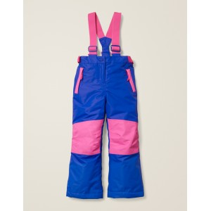 All-Weather Waterproof Pants - Blue Heron/Festival Pink