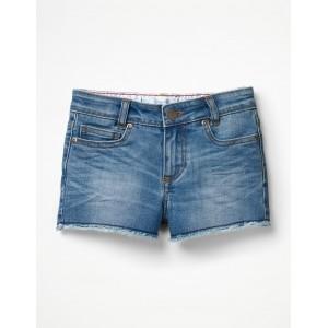 Denim Shorts - Mid Wash Denim