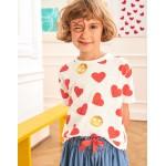Love T-Shirt - Ivory/Jam Hearts
