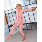 Printed All-In-One Pyjamas - Pink Wild Ponies