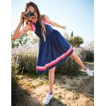 Sporty Woven Dress - College Blue