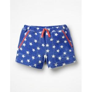 Towelling Shorts - Duke Blue Stars