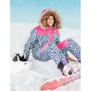 All-Weather Waterproof Pants - Cloudburst Blue Snow Leopard