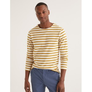 Chichester Mariner - Ecru/Cornish Mustard Stripe