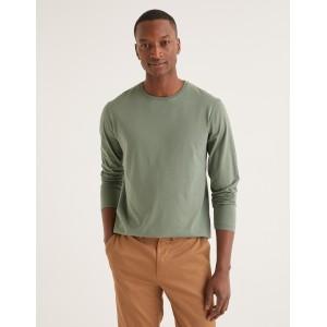 Long Sleeve Washed T-Shirt - Laurel Wreath