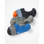 No Show Socks - Stripe Pack