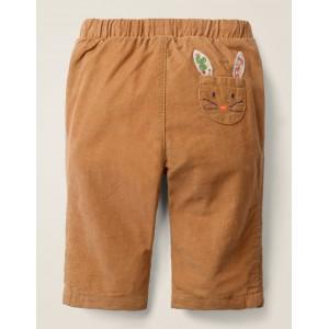 Slim Cord Pants - Butterscotch Brown Bunny