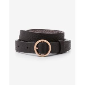 Skinny Waist Belt - Black