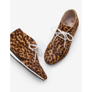 Ashbourne Boots - Tan Leopard