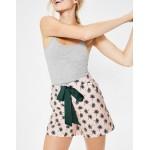 Suzie Pj Shorts - Dusty Pink, Holiday Palm