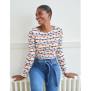 Long Sleeve Breton - Multi Stripe/Dot