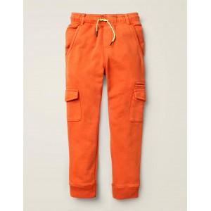 Garment-Dyed Joggers - Kumquat Orange