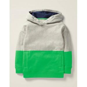 Cosy Drop Shoulder Hoodie - Andean Toucan Green
