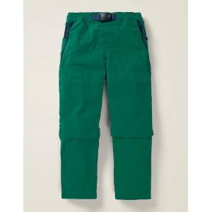 Zip-Off Utility Pants - Bottle Green