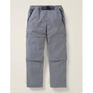 Zip-Off Utility Pants - Smoke Grey