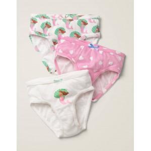 3 Pack Underwear - Mermaid