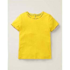 Mini Me Charlie Jersey T-shirt - Daffodil Yellow