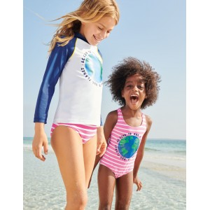 The Planet Swimsuit - Sweet Pink/Ivory Earth