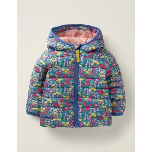 Cosy Quilted Jacket - Multi Spring Floral