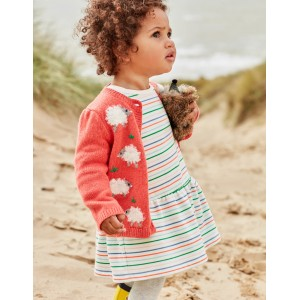 Fun Cardigan - Soft Peach Melba Marl