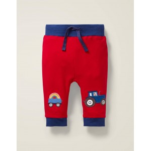 Applique Patch Jersey Bottoms - Beam Red Vehicles