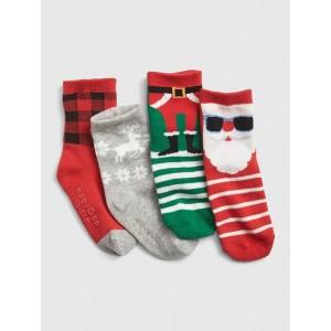 Holiday Crew Socks (4-Pack)