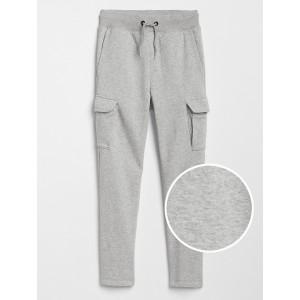 Pull-On Cargo Pants in Fleece