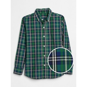 Plaid Poplin Shirt