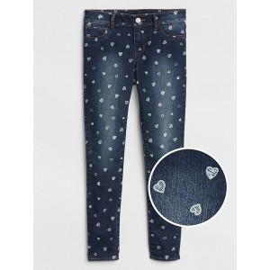 Superdenim Heart Jeggings with Fantastiflex
