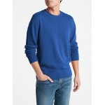 Roll-Neck Pullover Sweater in Cotton
