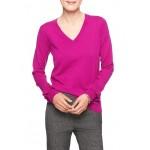 Premium Luxe Ruffle Cuff V-Neck Sweater